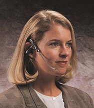 TriStar headset in use